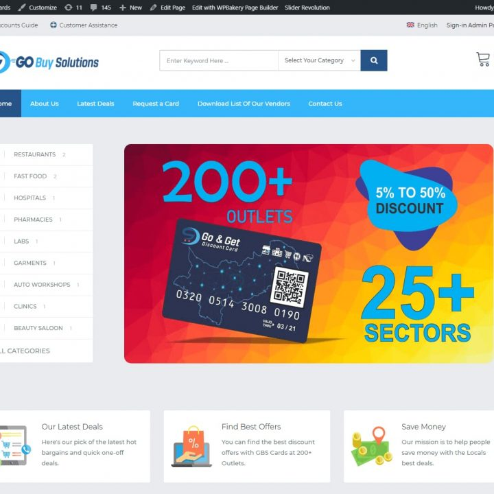 go buy solution cards by future technologies